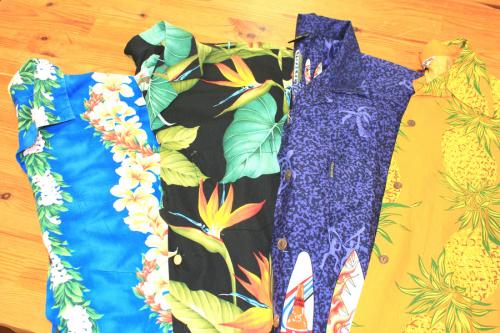 夏物衣類の府中衣類