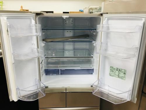 冷蔵庫のMITSUBISHI(ミツビシ)