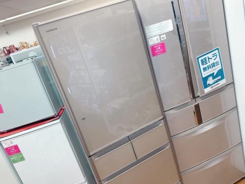 中古冷蔵庫の冷蔵庫