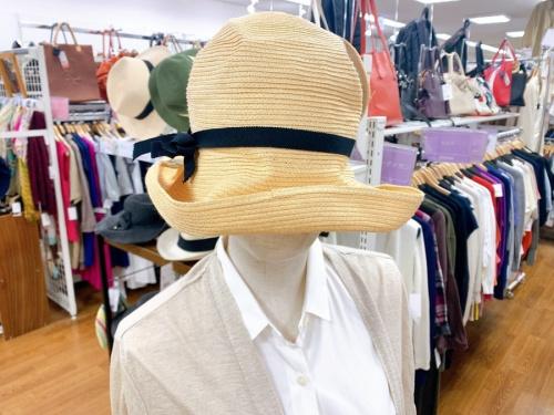 帽子のストローハット
