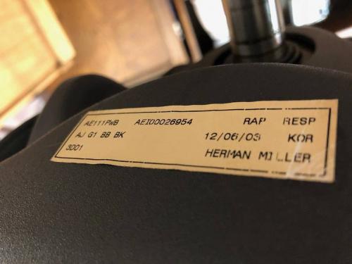 Herman Millerのアーロンチェア