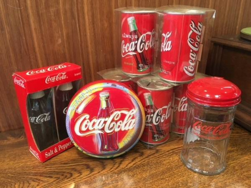 昭和レトロのコカ・コーラ