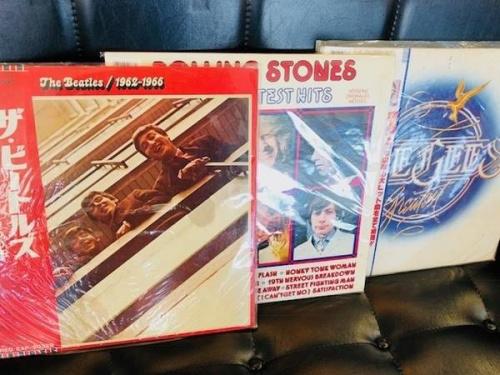 インテリアのレコード盤