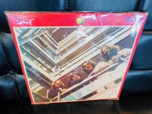 レコード盤のビートルズ