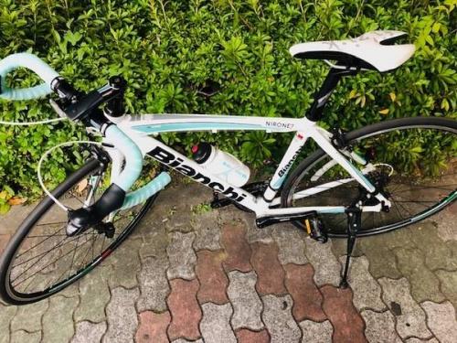 自転車のBIANCHI