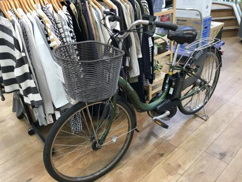 自転車のYAMAHA