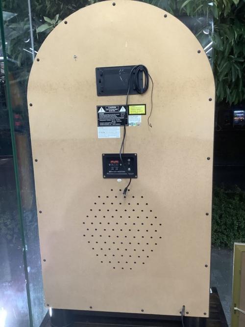ジュークボックスのCDラジオ