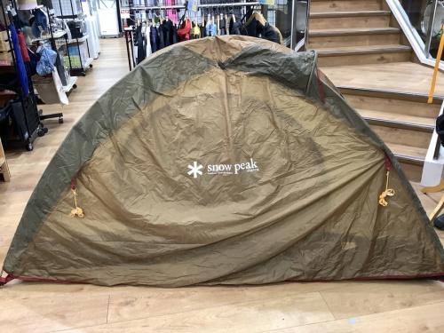 テントのSNOWPEAK
