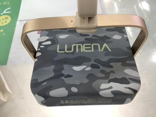 キャンプ用品のLUMENA