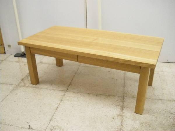 MUJI, Real Furniture リアルファニチャー, 無印良品 オーク無垢材ローテーブル