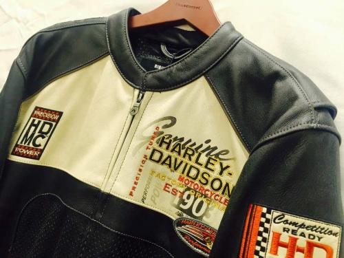 ライダースジャケットのHarley‐Davidson