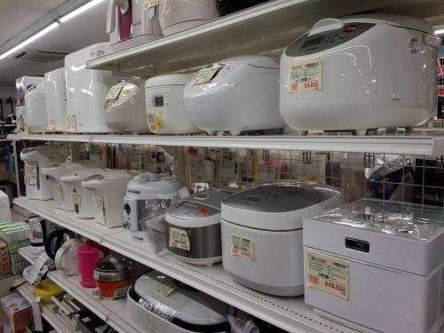 電子レンジの炊飯器