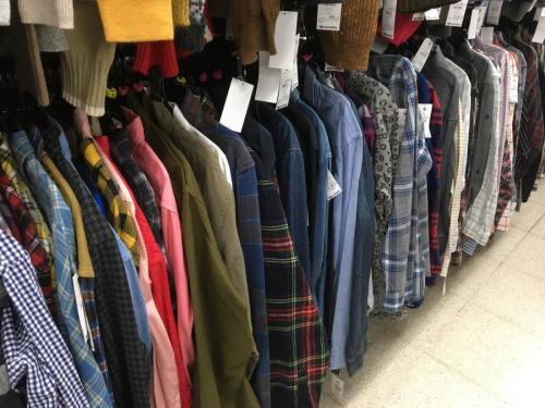 春物衣類の買取強化