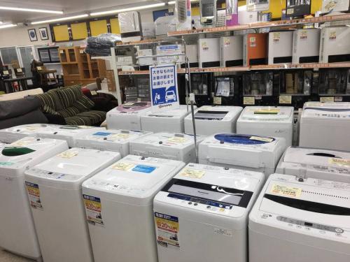 新生活の洗濯機