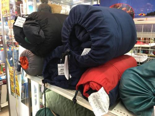 テントの買取強化