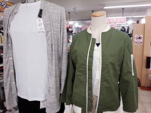 春物衣類の三鷹ファッション