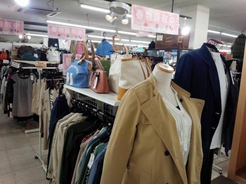 春物衣類のジャケット