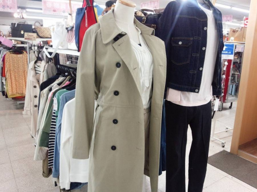 コートの三鷹ファッション