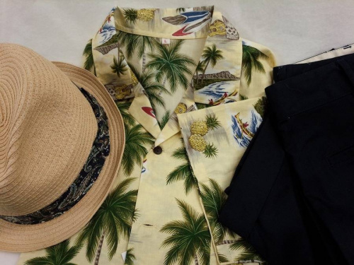 メンズファッションの夏物衣類