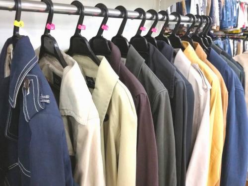 秋冬衣類の買取強化