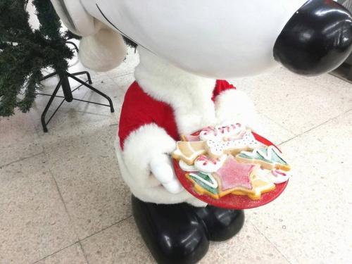 クリスマスのスヌーピー