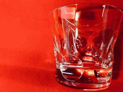 グラスの未使用