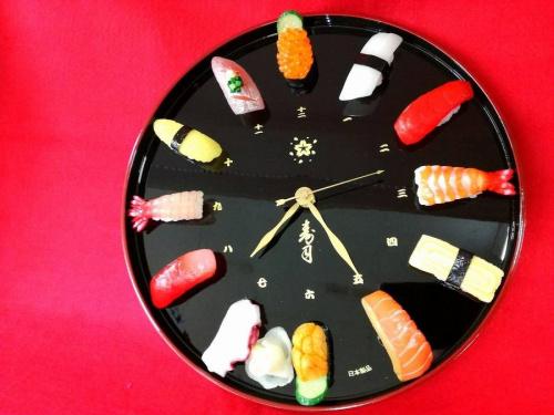 時計のお寿司
