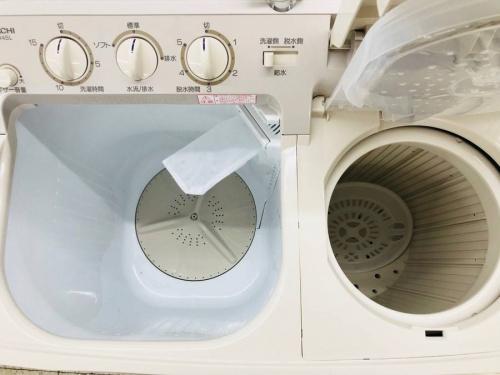 2槽式洗濯機のHITACHI
