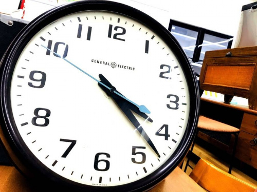 生活家電の掛時計