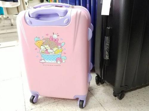 スーツケースのキャラクター