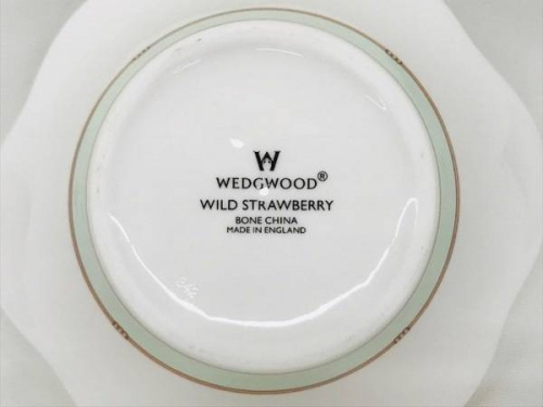 WEDGWOODのペタルバスケット