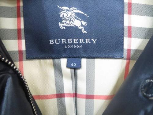 コートのBURBERRY