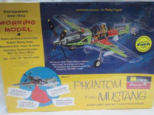プラモデルのモノグラム 1/32 ファントム F-51D ムスタング