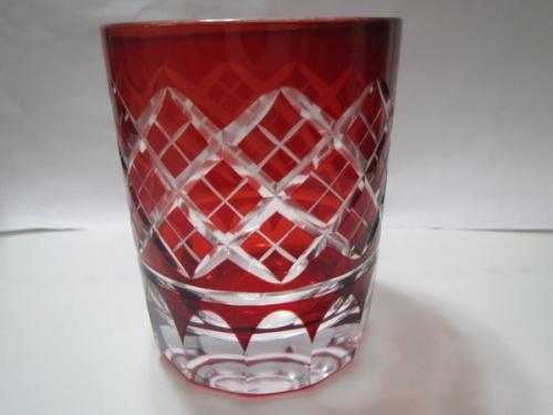 ガラスの切子グラス