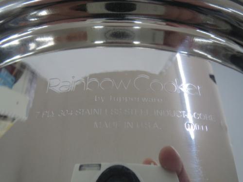 寸胴鍋のtupperware