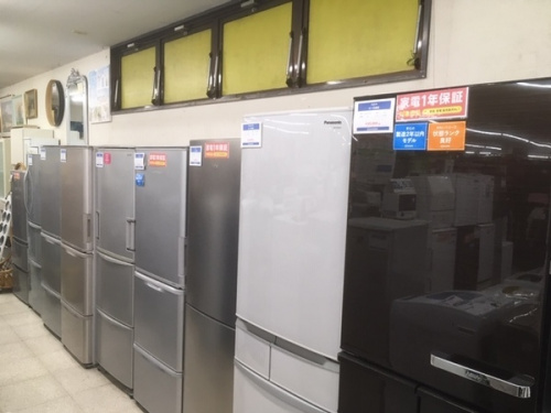 大型冷蔵庫のファミリー向け