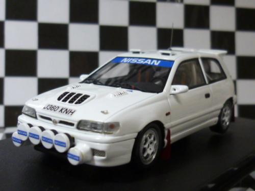 WRCのミニカー