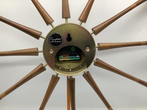 Spindle Clock(スピンドルクロック)のVitra George Nelson