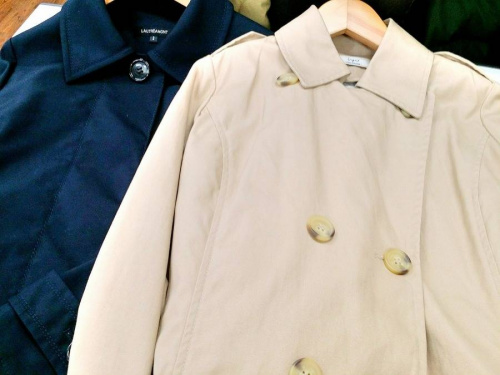 コートの秋冬物