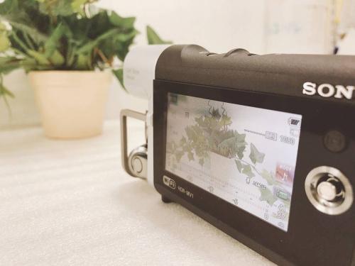 ミュージックビデオレコーダーのカメラ