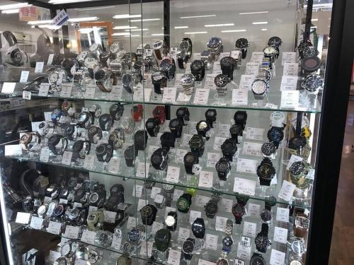 G-SHOCKの習志野腕時計