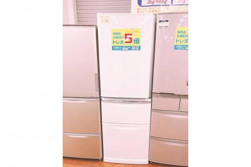 新生活の大型冷蔵庫