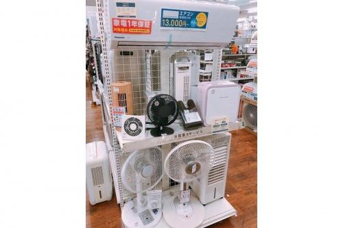 除湿機の扇風機