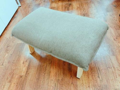 ハイバックリクライニングソファの無印家具