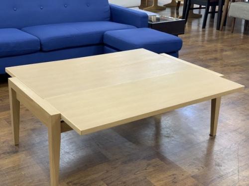 テーブルの伸縮式ロテーブル