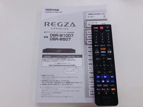 TOSHIBAのDBR-W507