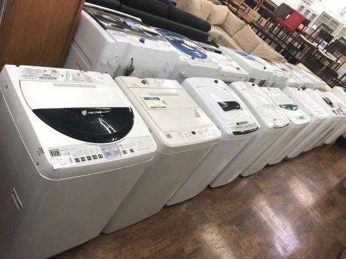 生活家電 千葉 中古の洗濯機 中古