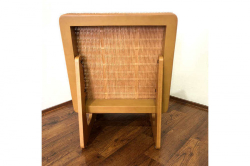 ラタンの籐座椅子