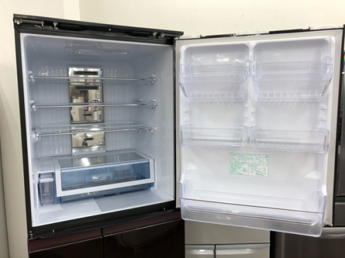 冷蔵庫 中古の5ドア冷蔵庫