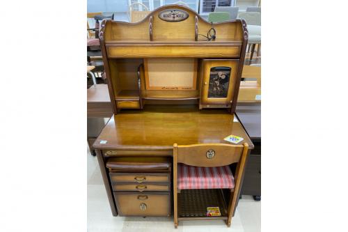 家具の学習机 中古